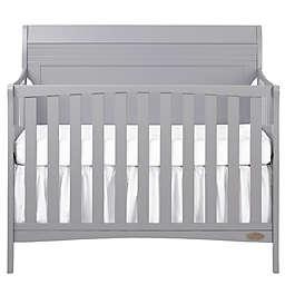 Dream-On-Me Bailey 5-in-1 Convertible Crib in Dove Grey