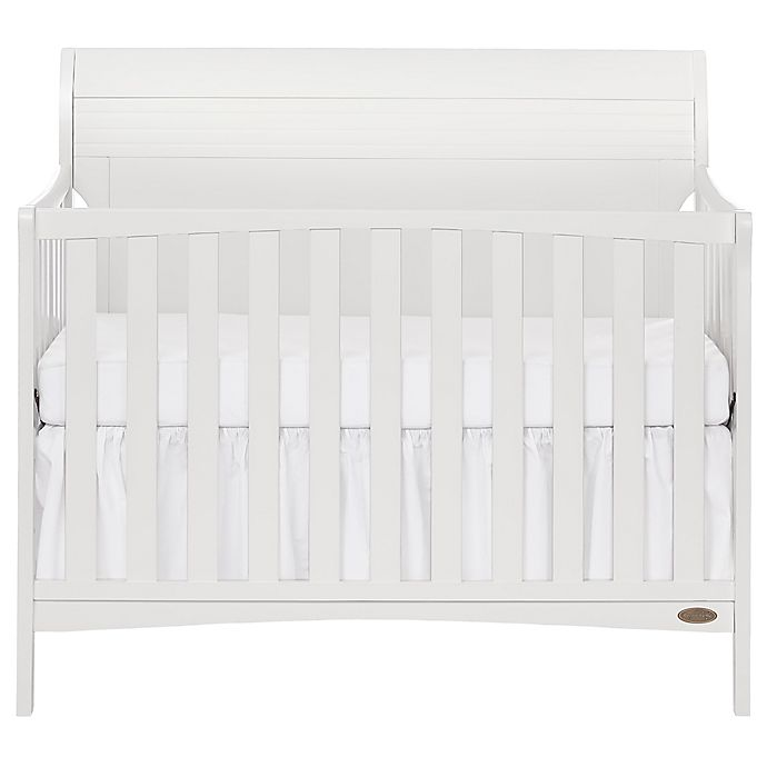 Alternate image 1 for Dream-On-Me Bailey 5-in-1 Convertible Crib in White