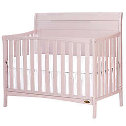 Dream-On-Me Bailey 5-in-1 Convertible Crib in Pink Blush