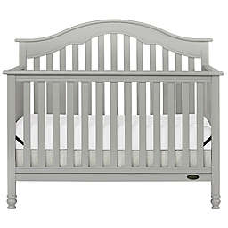 Dream On Me Charlotte 5-in-1 Convertible Crib in Steel Grey