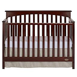 Dream On Me Davenport 5-in-1 Convertible Crib in Mocha