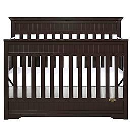 Dream On Me Chesapeake 5-in-1 Convertible Crib in Mocha