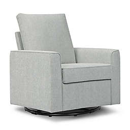 Million Dollar Baby Alden Swivel Glider in Feather Grey