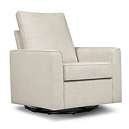 Million Dollar Baby Alden Swivel Glider in Wheat