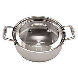 Chef's Design® Simmer Pro® Stainless Steel Covered Saucier