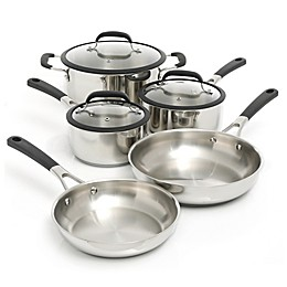 Oster® Belton Stainless Steel 8-Piece Cookware Set