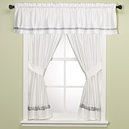 Croscill® Spa Tile Bathroom 45-Inch Window Curtain Panel Pair