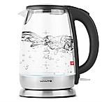 Café Vianté® 1.7-Liter Electric Glass Water Kettle