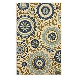 Mohawk Home Savannah Rug in Blue Multi