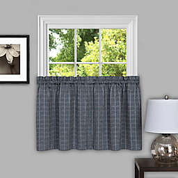 Achim Sydney Kitchen Window Curtain Tier Pair
