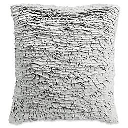 Bridge Street Monroe 18-Inch Square Throw Pillow in Light Grey
