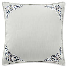 Waterford® Florence European Pillow Sham in Chambray