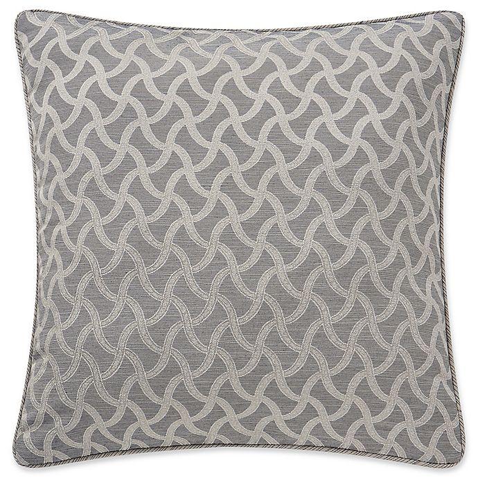 Alternate image 1 for Waterford® Bainbrige European Pillow Sham in Linen