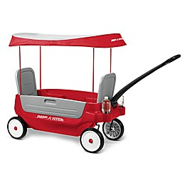 Radio Flyer® Deluxe 3-in-1 Grandstand Wagon with Canopy