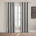 Design Solutions Caleb 84-Inch Solid Grommet Light-Filtering Window Curtain Panel in Grey