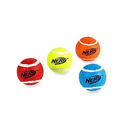 Nerf Dog Squeak Tennis Balls (Set of 4)