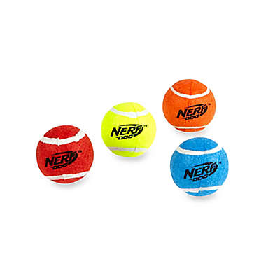 Nerf Dog Squeak Tennis Balls (Set of 4)