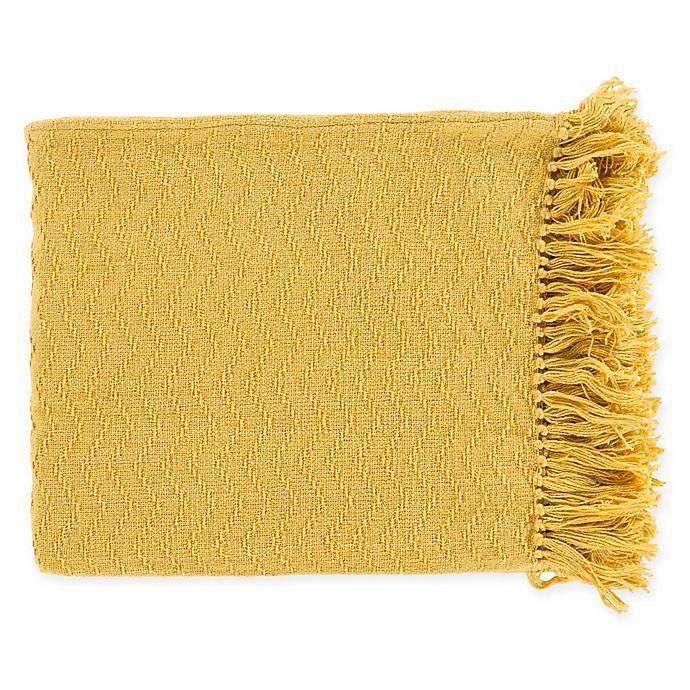 Alternate image 1 for Surya Thelma Throw Blanket