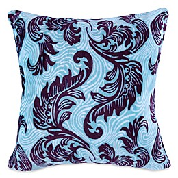 Berkshire Blanket® VelvetLoft® Feathered Damask Square Throw Pillow