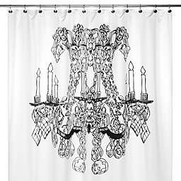 Chandelier 72-Inch x 72-Inch Shower Curtain
