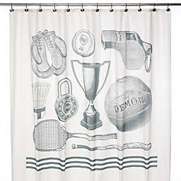 Sport 72 Inch X Shower Curtain