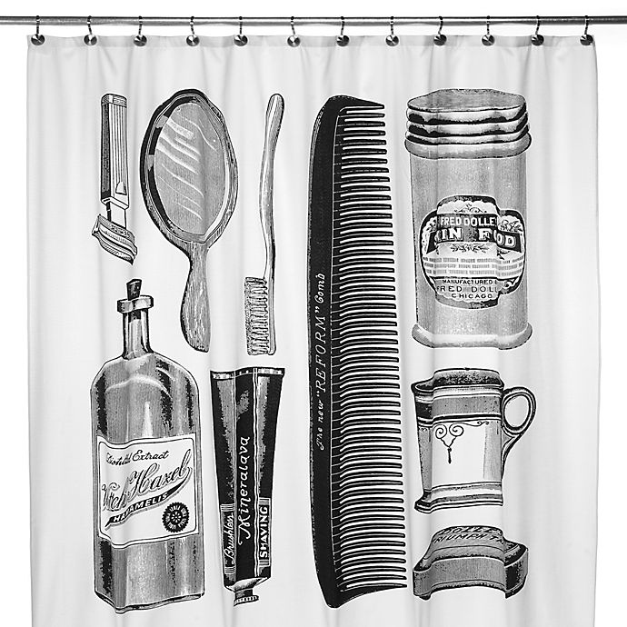 Alternate image 1 for Apothecary 72-Inch x 72-Inch Shower Curtain