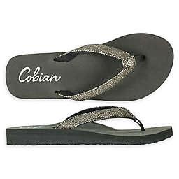 Cobian Fiesta Skinny Bounce Woman's Sandal in Pewter