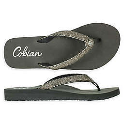Cobian Fiesta Skinny Bounce Woman's Sandal in Pewter