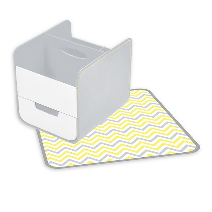 Alternate image 1 for b. box® Diaper Caddy in Mellow Lellow