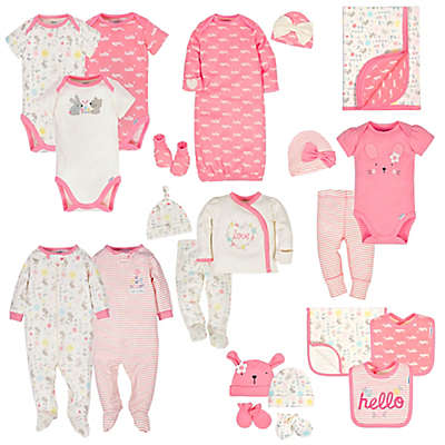 Gerber® Organic Girl's Hello Bunny Style Collection