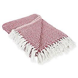 Woven Stripe Throw Blanket