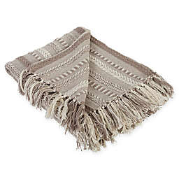 Braided Stripe Throw Blanket
