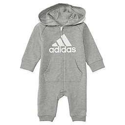 adidas® Hooded Coverall in Grey