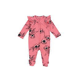 6d69df17a00b Jessica Simpson Floral Ruffle Footed Coverall in Pink
