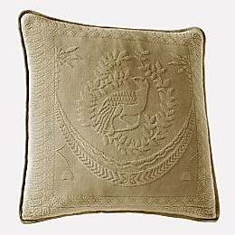 Historic Charleston Collection Matelasse 20-Inch Square Pillow