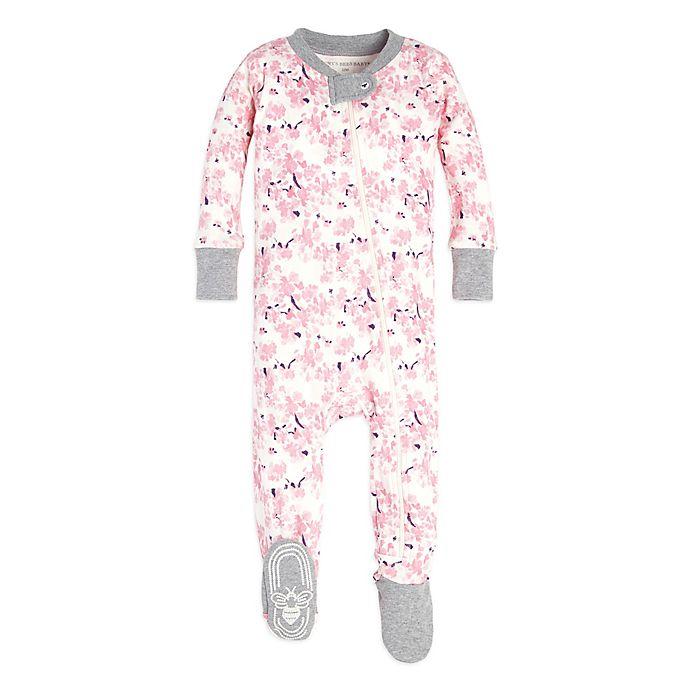 Burt S Bees Baby 174 Sleeper Waterlily Footed Pajama In Pink