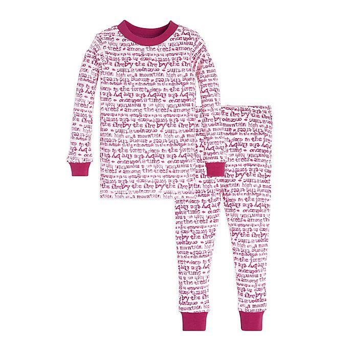 10bf11967b34 Burt s Bees Baby® Story Time Organic Cotton 2-Piece Pajama Set in ...
