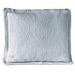 Historic Charleston Collection Matelasse Standard Pillow Sham in Blue