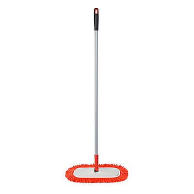 OXO Good Grips® Microfiber Floor Duster in Orange