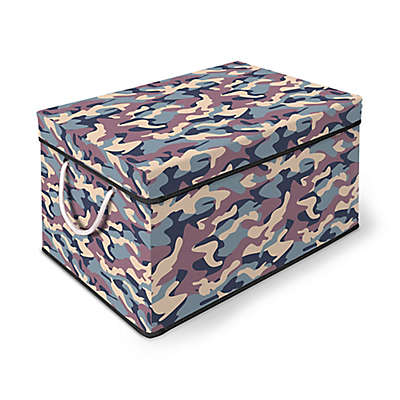 Bintopia Storage Chest with Lid in Camo