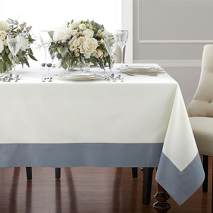 Alternate image 1 for Wamsutta® Bordered Table Linens