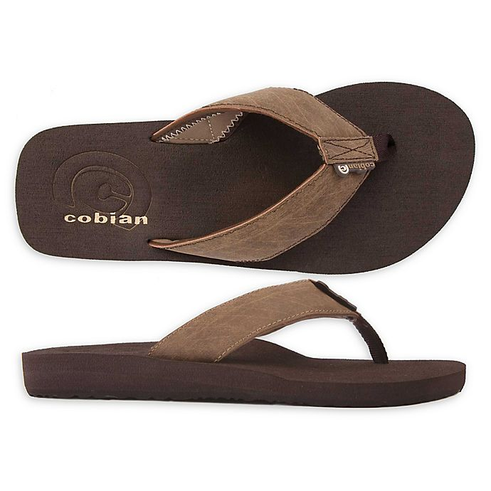Alternate image 1 for Cobian Size 9 Men's Floater Sandal in Mocha