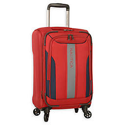 Nautica® Gennaker 20-Inch Spinner Carry On Luggage in Red/Navy
