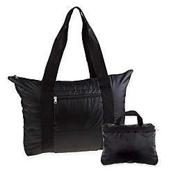 Latitude 40°N® Packable Tote in Black