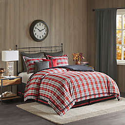 Woolrich® Williamsport Twin Comforter Set in Red/Grey