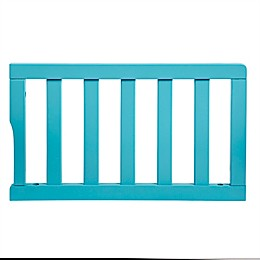 Dream On Me Universal Convertible Crib Guard Rail in Aqua