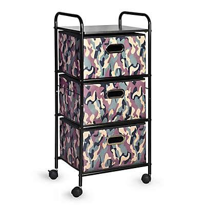 Bintopia 3-Drawer Storage Cart