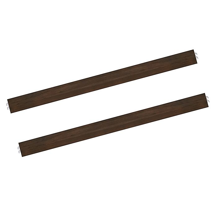 Alternate image 1 for Evolur Universal Full Size Bed Rail in Antique Brown