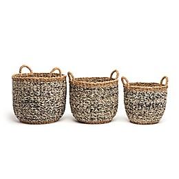 Fab Habitat™ Storage Baskets in Ebony (Set of 3)