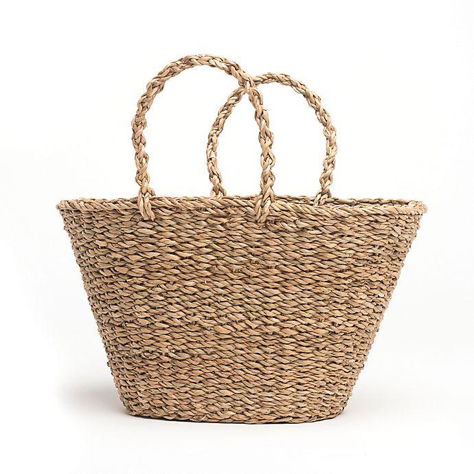 Alternate image 1 for Fab Habitat™ Geneva Seagrass Bag in Natural